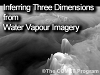Satellite Feature Identification: Inferring Three Dimensions from Water Vapour Imagery