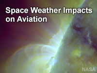 Space Weather Impacts on Aviation