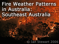 Fire Weather Patterns in Australia: Southeast Australia