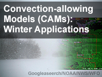 Convection-allowing Models (CAMs): Winter Applications