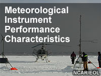 Meteorological Instrument Performance Characteristics
