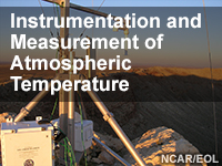 Instrumentation and Measurement of Atmospheric Temperature