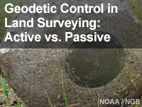 Geodetic Control in Land Surveying: Active vs. Passive