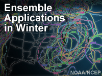 Ensemble Applications in Winter