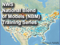 NWS National Blend of Global Models (NBM) Training Series