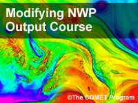 Modifying NWP Output Course