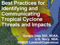 Best Practices for Identifying and Communicating Tropical Cyclone Threats and Impacts