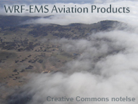 WRF-EMS Aviation Products