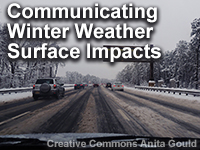 Communicating Winter Weather Surface Impacts