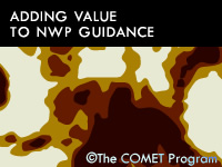 Adding Value to NWP Guidance