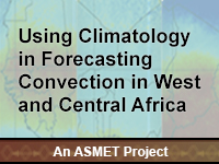 Using Climatology in Forecasting Convection in West and Central Africa