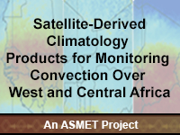 Satellite-Derived Climatology Products for Monitoring Convection Over West and Central Africa