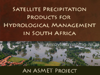 ASMET: Satellite Precipitation Products for Hydrological Management in Southern Africa