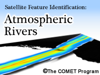 Satellite Feature Identification: Atmospheric Rivers