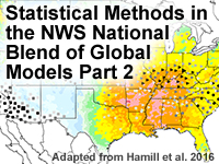 Statistical Methods in the NWS National Blend of Global Models Part 2