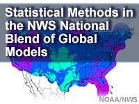Statistical Methods in the NWS National Blend of Global Models