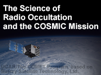 The Science of Radio Occultation and the COSMIC Mission