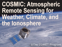 COSMIC: Atmospheric Remote Sensing for Weather, Climate, and the Ionosphere