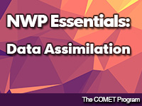 NWP Essentials: Data Assimilation