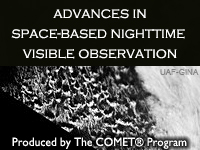 Advances in Space-Based Nighttime Visible Observation