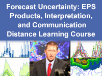 Forecast Uncertainty: EPS Products, Interpretation, and Communication