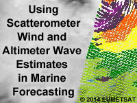 Using Scatterometer Wind and Altimeter Wave Estimates in Marine Forecasting