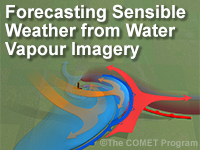 Forecasting Sensible Weather from Water Vapour Imagery