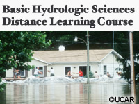 Basic Hydrologic Sciences Distance Learning Course Portal