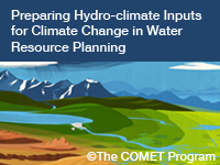 Preparing Hydro-climate Inputs for Climate Change in Water Resource Planning