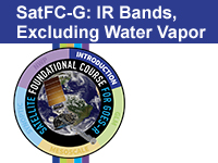 SatFC-G: IR Bands, Excluding Water Vapor