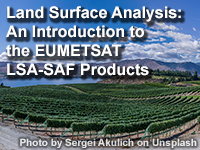 Land Surface Analysis: An Introduction to the EUMETSAT LSA-SAF Products