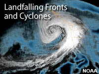 Landfalling Fronts and Cyclones