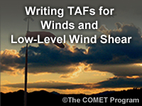 Writing TAFs for Winds and LLWS