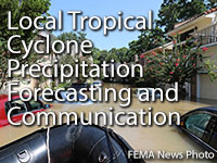 Local Tropical Cyclone Precipitation Forecasting and Communication