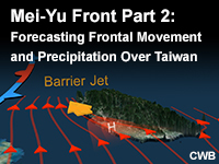 Mei-Yu Front, Part 2: Forecasting Frontal Movement and Precipitation Over Taiwan