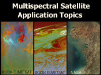 Multispectral Satellite Application Topics Course