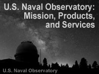 The U.S. Naval Observatory: Mission, Products, and Services