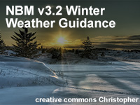 NBM v3.2 Winter Weather Guidance