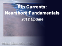 Rip Currents: Nearshore Fundamentals