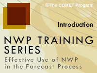 NWP Training Series: Introduction