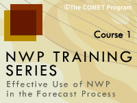 NWP Training Series Course 1: NWP Basics and Background