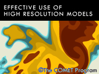 Effective Use of High-Resolution Models