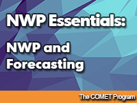 NWP Essentials: NWP and Forecasting