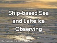 Ship-based Sea and Lake Ice Observing