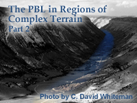 PBL in Complex Terrain - Part 2