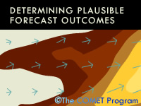 Determining Plausible Forecast Outcomes