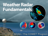 MetEd » Resource Description: Weather Radar Fundamentals