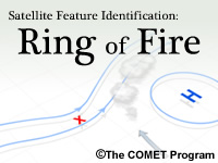Satellite Feature Identification: Ring of Fire