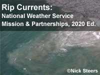 Rip Currents: National Weather Service Mission and Partnerships, 2020 Edition