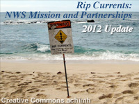 Rip Currents: NWS Mission and Partnerships